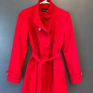 Forever 21 Red Trench Coat